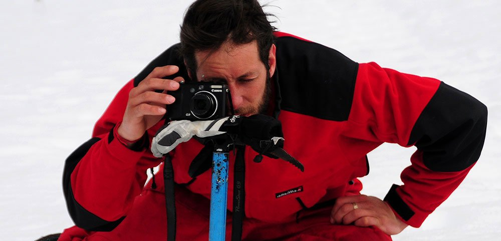 imagem de Igor Bely na Antártica