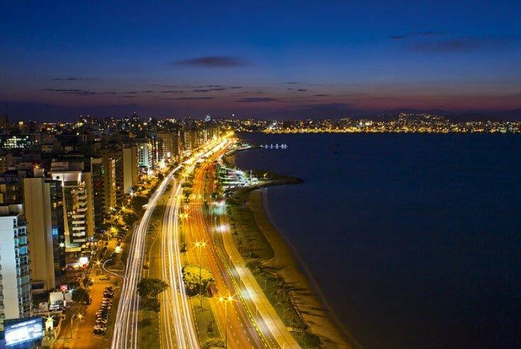imagem da Avenida Beira- mar Norte