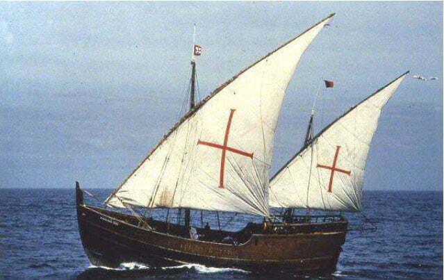 imagem de caravela do século 16