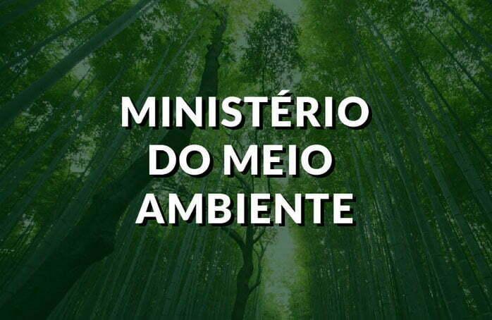 imagem de logotipo do ministério do Meio Ambiente, de mal a pior