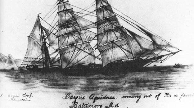 imagem do navio Aquidneck, de joshua slocum