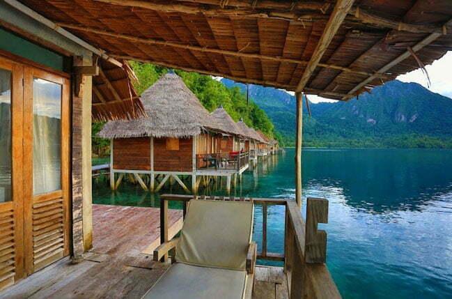 imagem de Resort cinco estrelas flutuantes