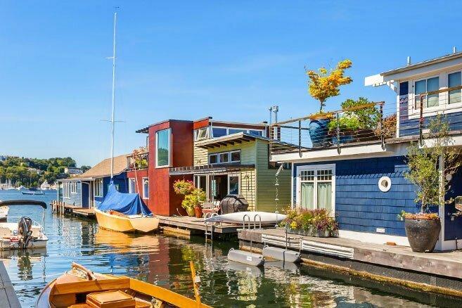imagem de Cidades flutuantes sustentáveis de Seatle