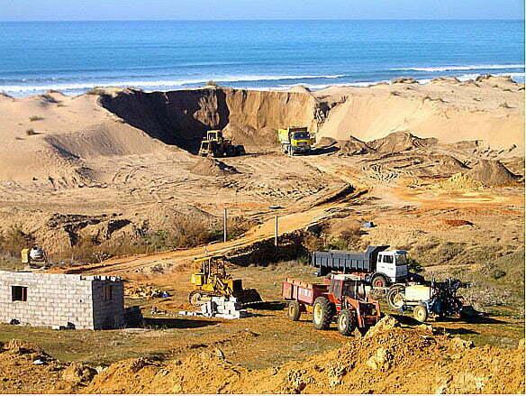 imagem de Mineração de areia
