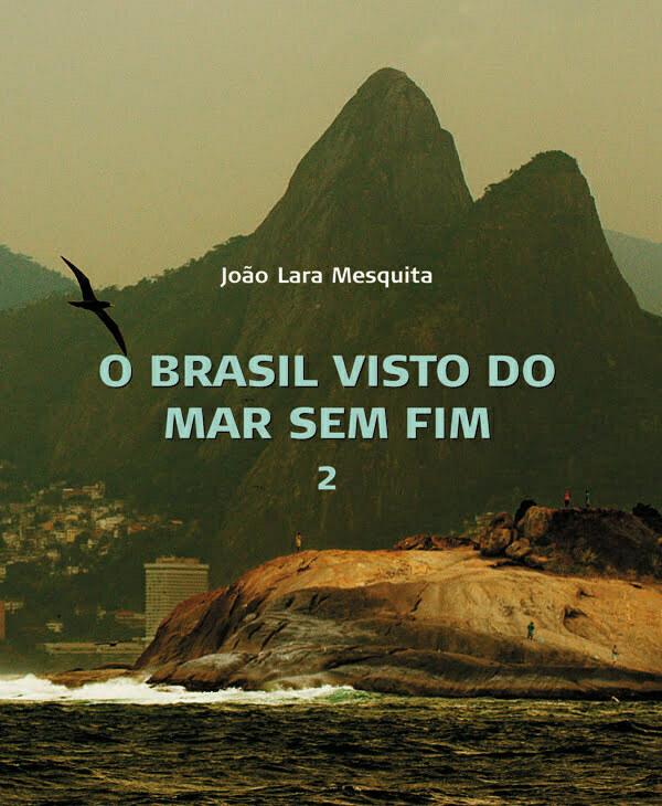 imagem da capa do volume 2 do livro O Brasil Visto do mar Sem Fim