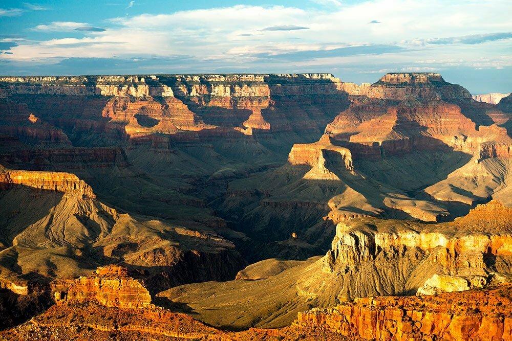 imagem do grand canyon, um dos parques nacionais norte-americanos