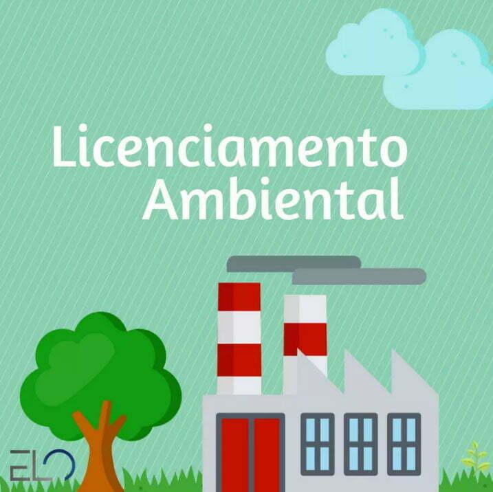 ilustração sobre licenciamento ambiental.