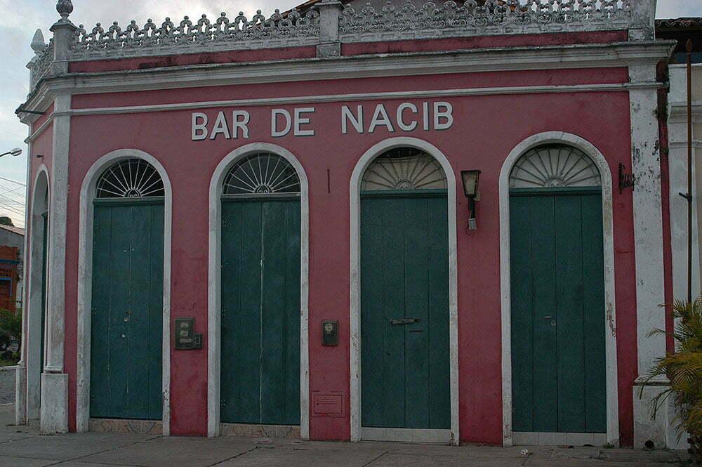 imagem de casa antiga em Belmonte, Bahia