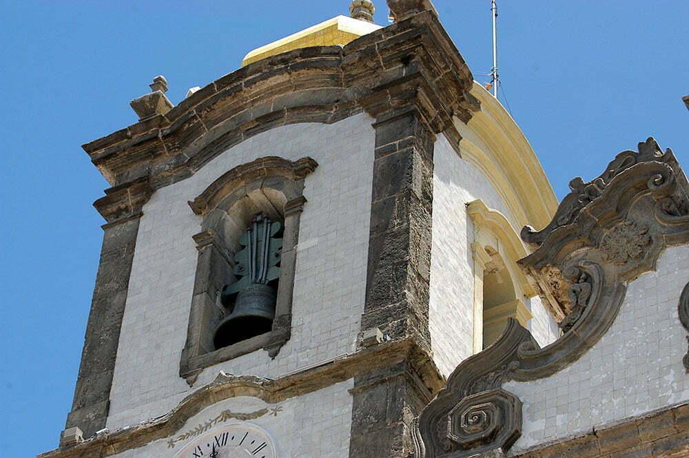 imagem da torre da igreja N senhora do bonfim, salvador