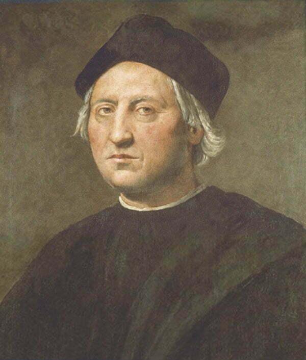 imagem de pintura de Cristóvão Colombo