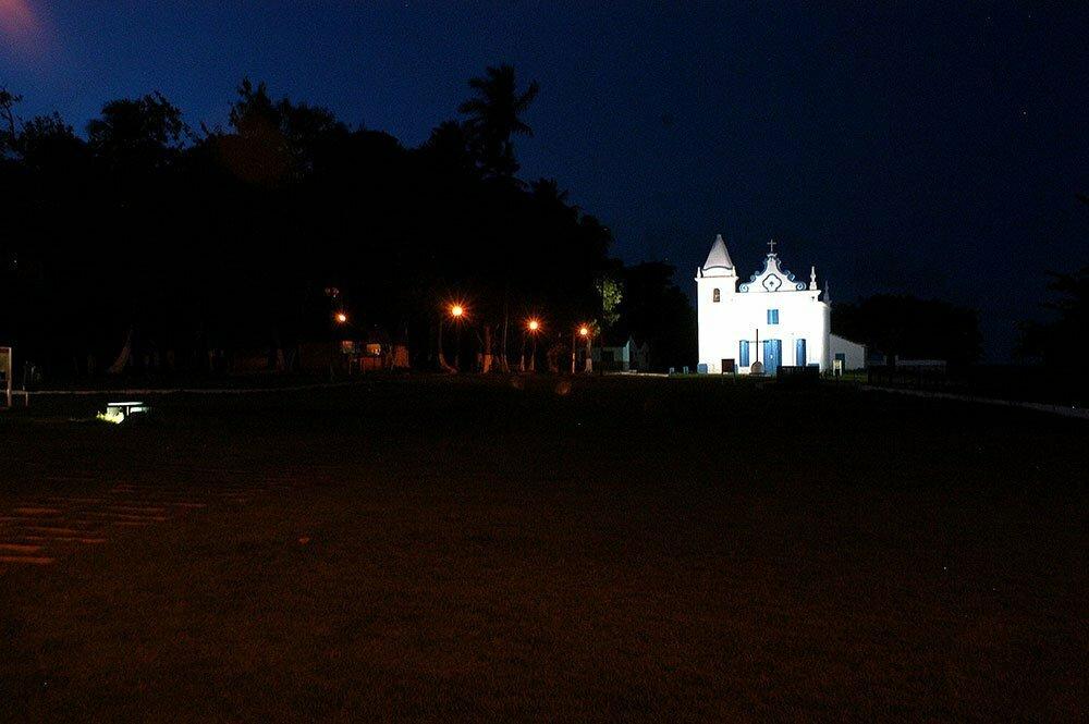imagem da igreja de Santa Cruz de cabrilha