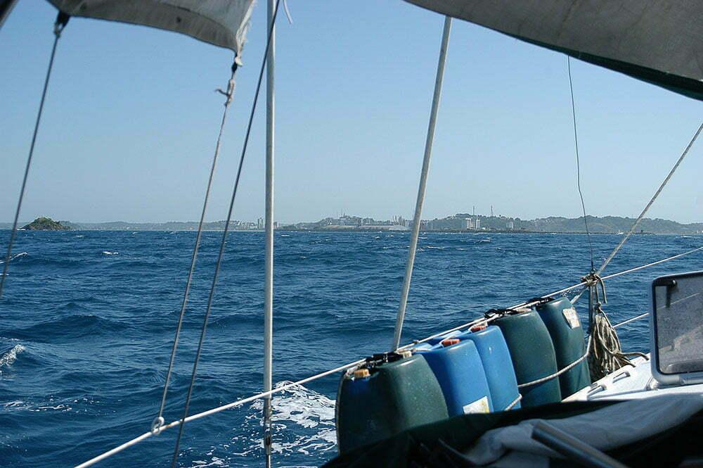 imagem de Ilhéus vista do mar