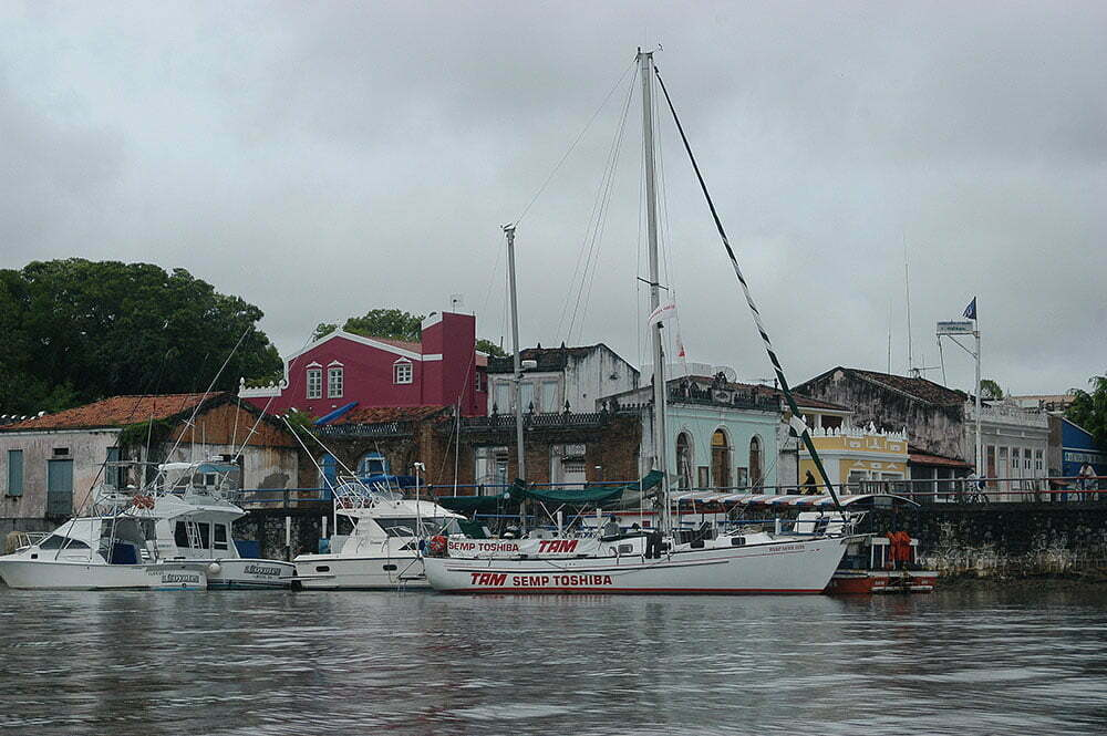 imagem do veleiro mar sem fim em Canasvieiras