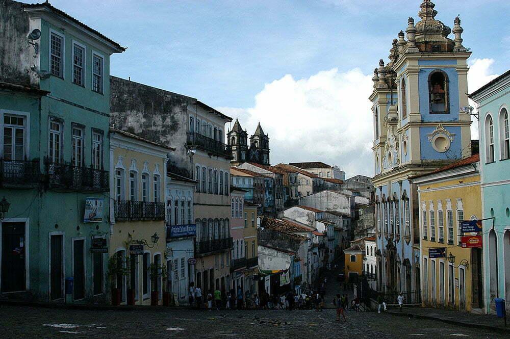 imagem do bairro pelourinho, salvador