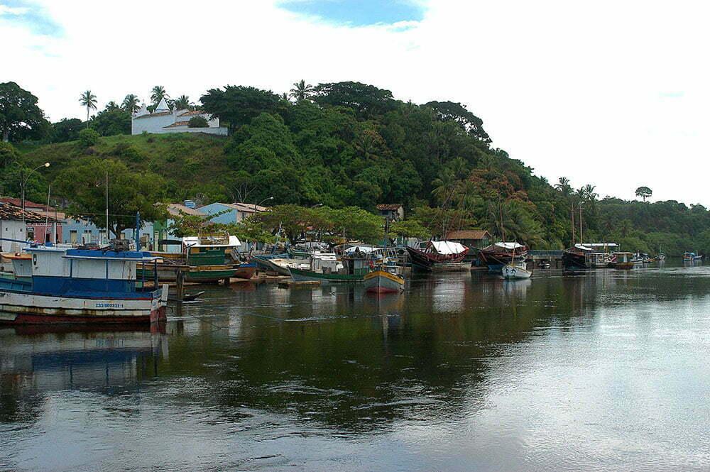 imagem do rio João de tiba