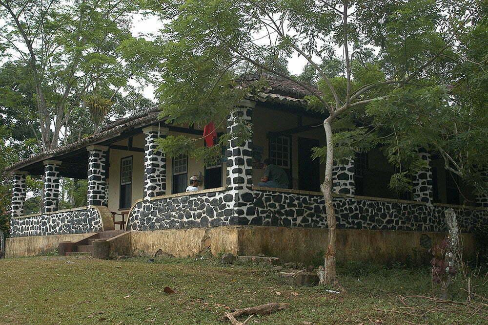 imagem de sede de fazenda de cacau em Ilhéus