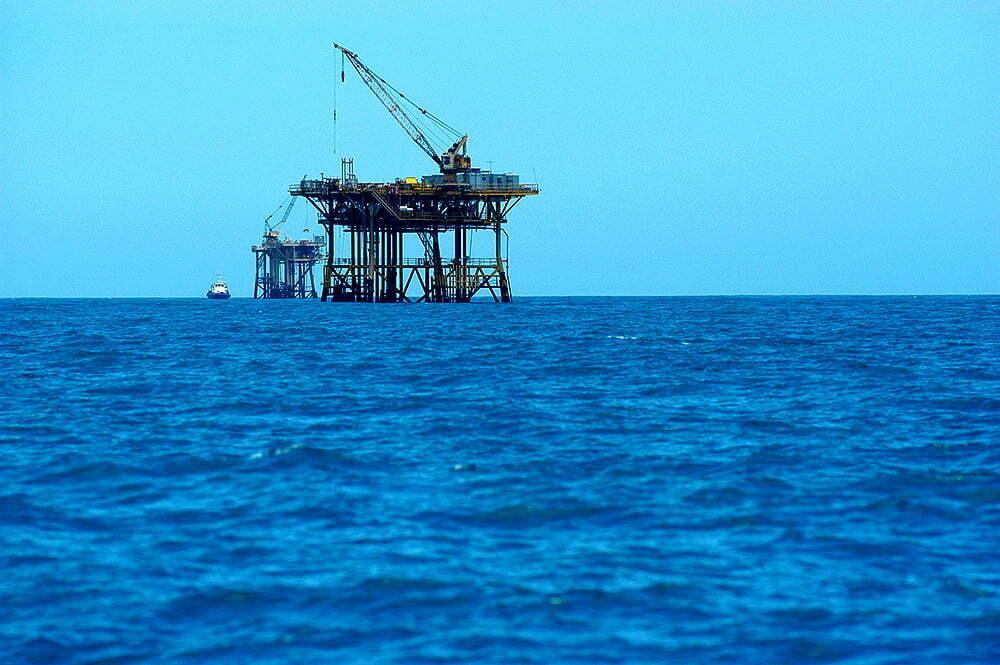 imagem de extração de petróleo no Brasil