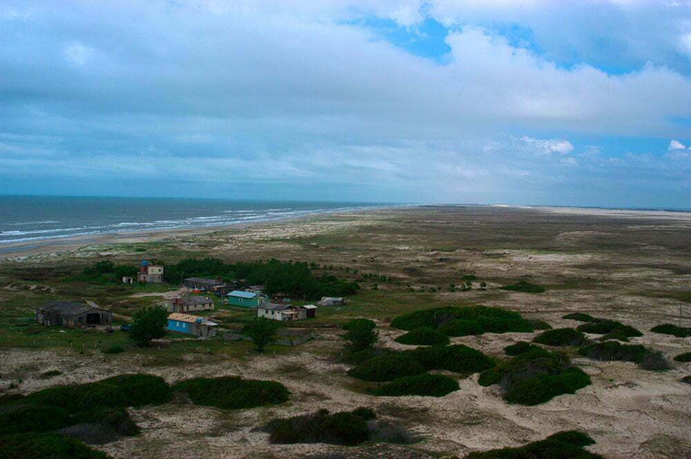 paisagem do litoral do Rio Grande do Sul