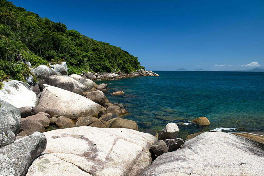 imagem do arquipélago dos arvores dos, santa catarina