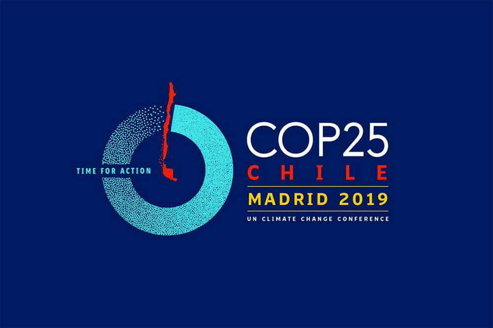 logotipo da COP 25