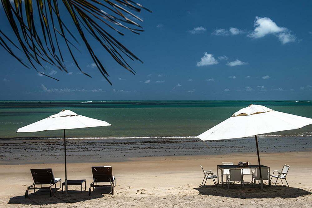 imagem de praia em Alagoas