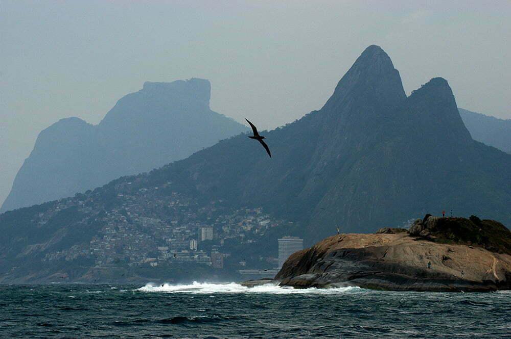 imagem do Morro Dois Irmãos, Rio e Janeiro