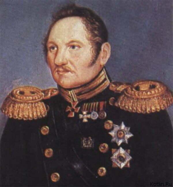 imagem de Fabian Gottlieb von Bellingshausen que fez parte da História da descoberta da Antártica