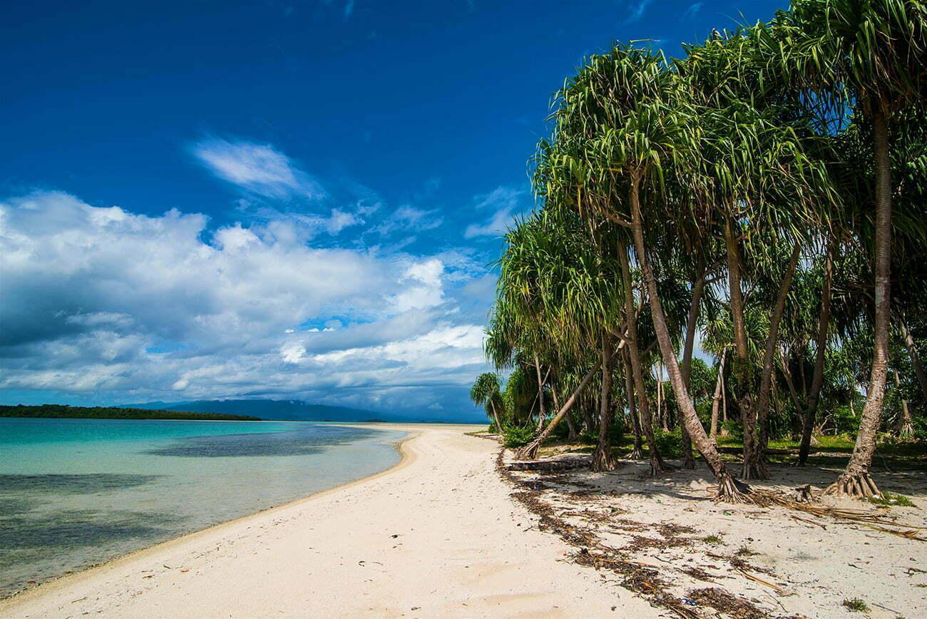 imagem de praia em Arquipélago de Bougainville