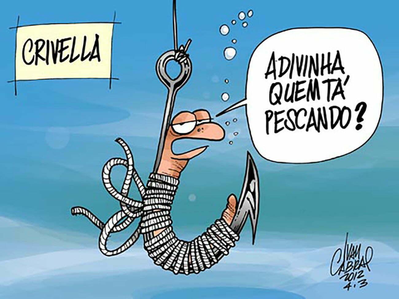 ilustração de pescaria