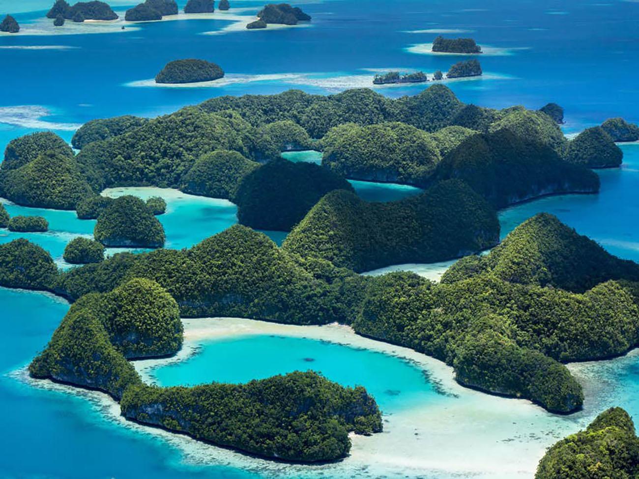imagem de Palau, na Micronésia
