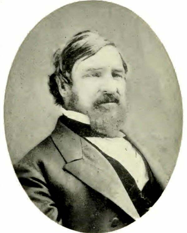imagem de Nathaniel Palmer um dos que fizeram parte da História da descoberta da Antártica