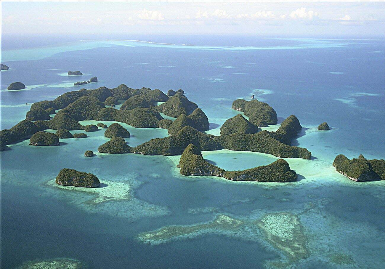 image de Palau primeiro país a proibir o protetor solar.