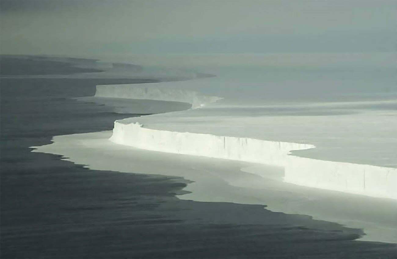 imagem do maior iceberg