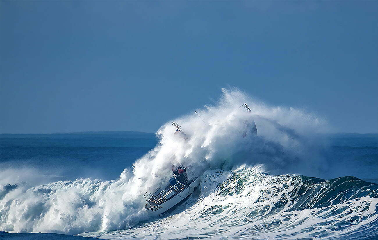 imagem de treinamento da guarda costeira do Oregon