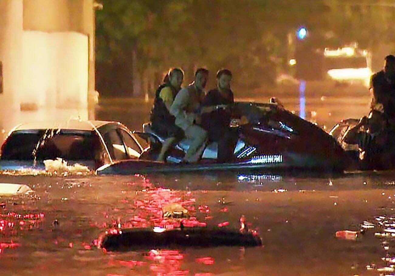 imagem de na São Paulo naufragada