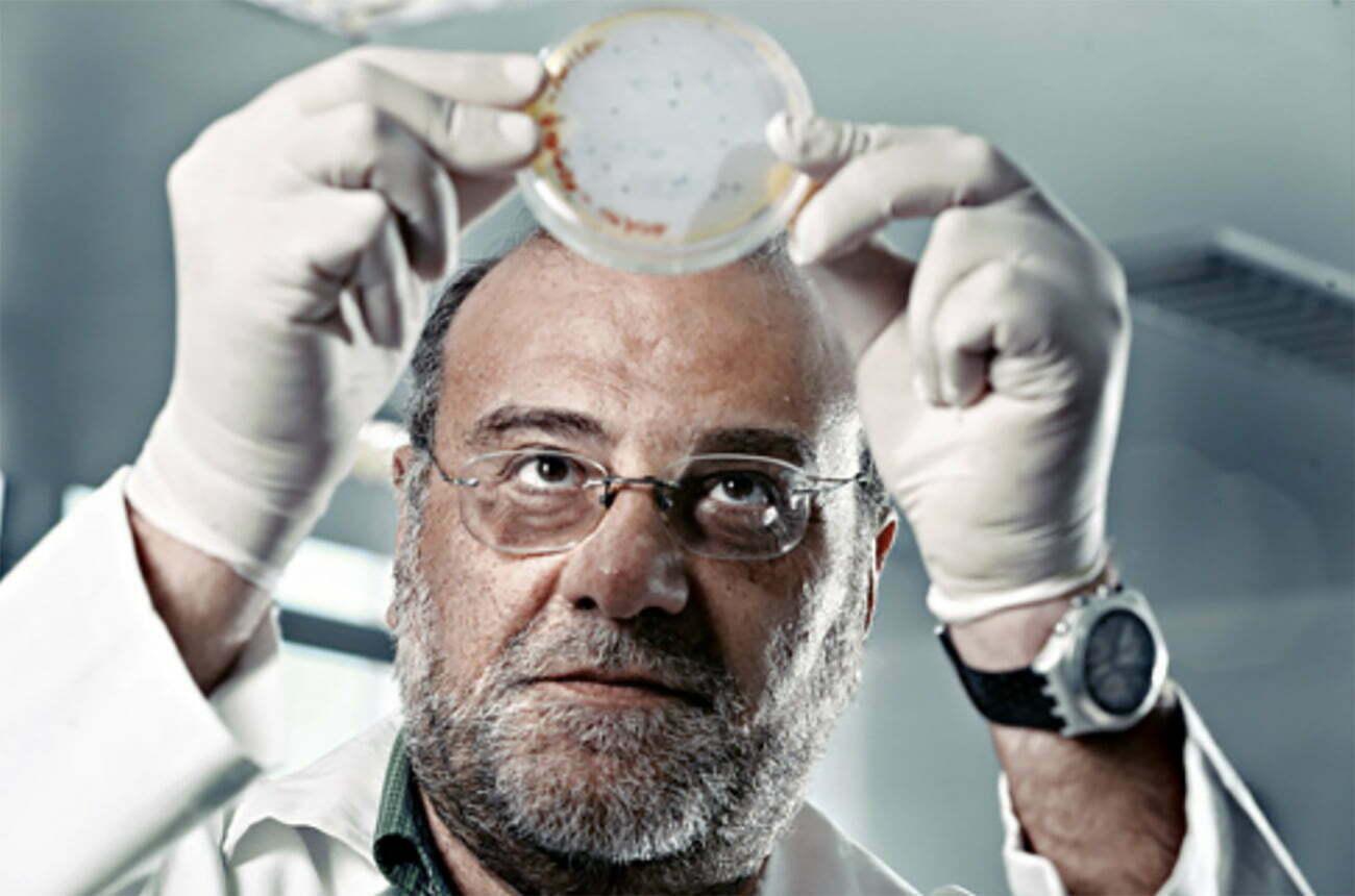 imagem do cientista Amilcar Tanuri