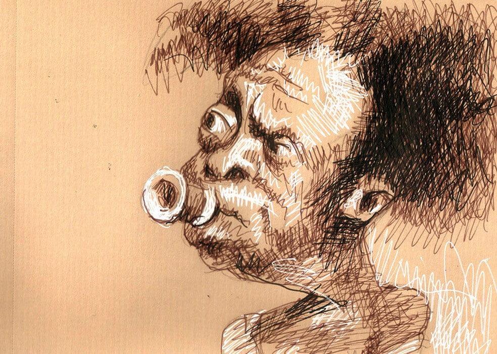 Desenho de macunaíma
