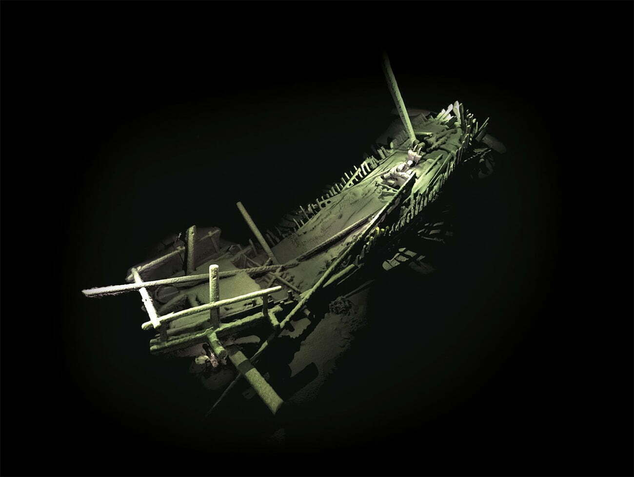 imagem de naufrágio no Mar Negro