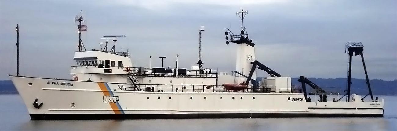 Imagem do navio Alpha Crucis.