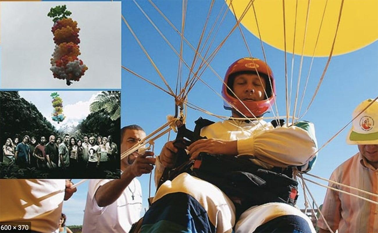 imagem do padre voador no Paraná,Adelir de Carli