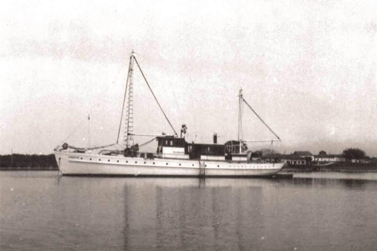 imagem do barco de pesquisa UNGAVA
