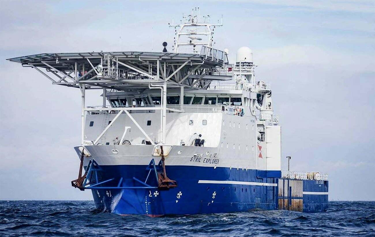 imagem do navio de pesquisas Stril Explorer