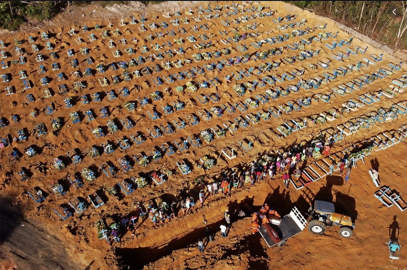 imagem do cemitério de Manaus
