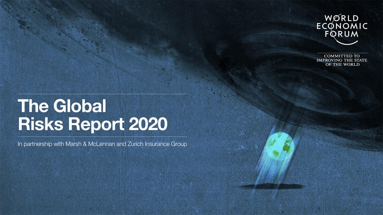 imagem do relatório the global risos Report 2020, do Fórum Econômico Mundial