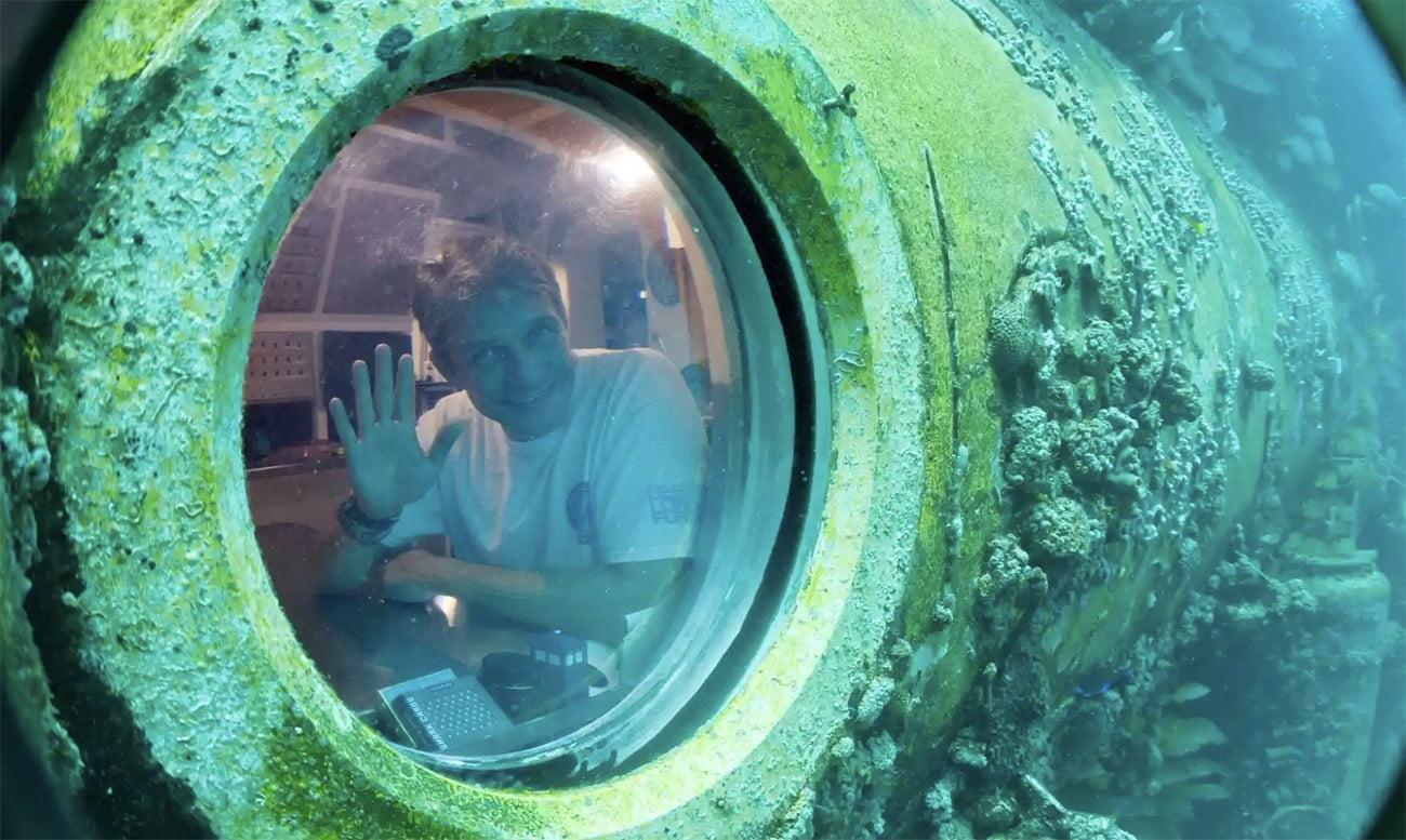 imagem de Fabien Cousteau.