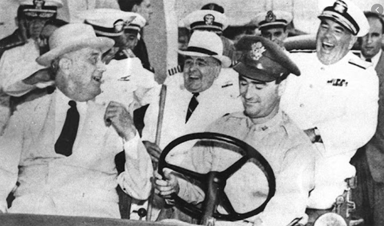 imagem de Getúlio Vargas e Roosevelt no Nordeste