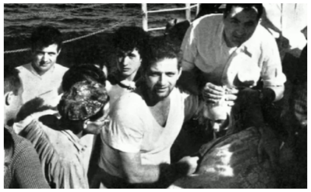 Imagem do resgate de Terry Jo Duperrault