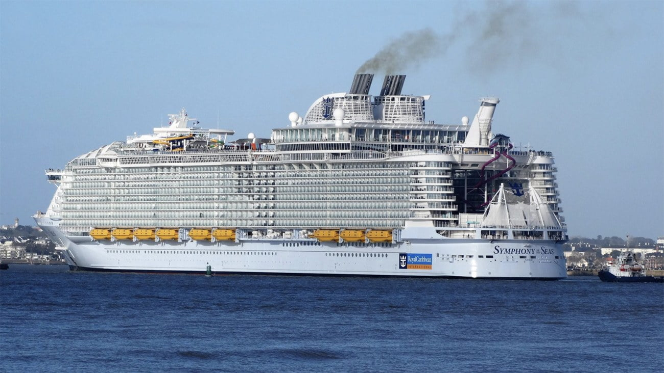 imagem do navio Symphony of the Seas