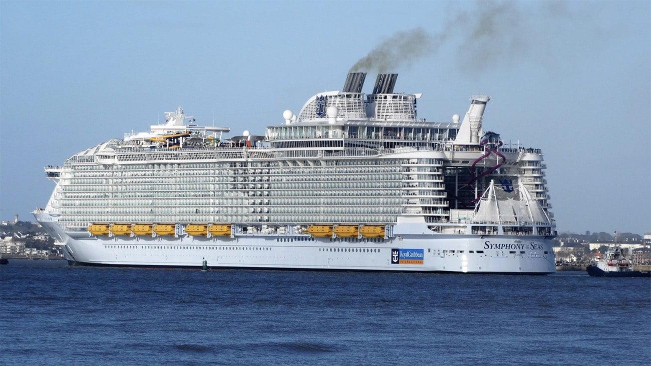 imagem do navio Symphony of the Seas