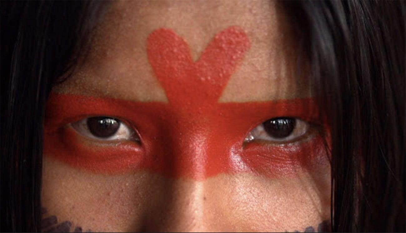 Logotipo do Documentário Amazônia Sociedade Anônima